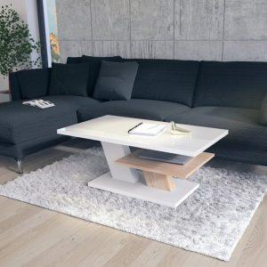 Coffee table Cliff - High Gloss