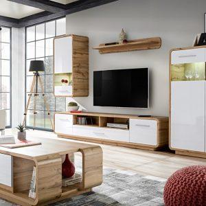 Set of Furniture SCANCO - Oak + white