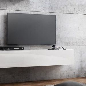 Wall mounted TV unit Quadro 160 cm